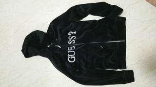 Guess Velvet hoodie/jacket