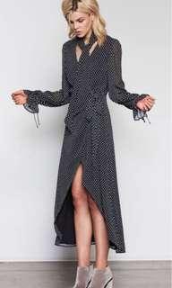 Isla by Talulah Contrast Wrap Dress // Size 12