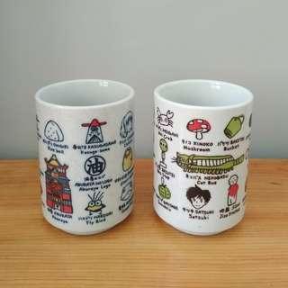 *龍貓 *千與千尋 - 日式茶杯