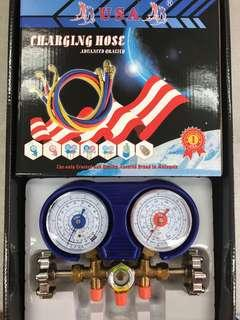 USA brand manifold gauge set