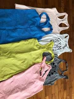 🚚 Lululemon Lorna Jane exercise tops