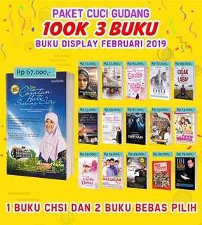3 buku Asma Nadia 100K