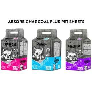 Absorb Charcoal Plus Pet Sheets