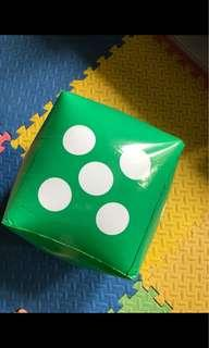 Big inflatable dice