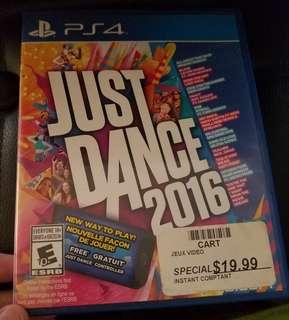 Ps4 games Just Dance 2016