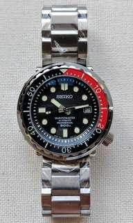 Seiko Tuna Can Automatic Diver Homage with SBDX001 Dial Upgrade