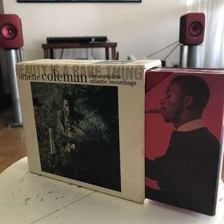 Ornette Coleman Rhino box set Beauty Is A Rare Thing