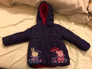 Pepos pig 夾棉外套