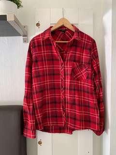 F21 Flannel Shirt