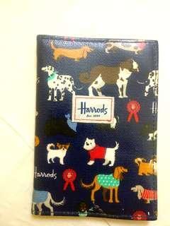 Harrods passport cover