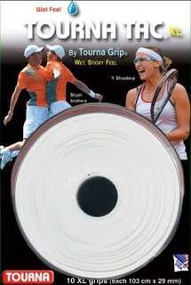 Tourna Tac xl wet feel overgrip (white) for tennis racket