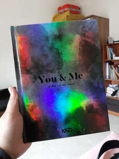Album kard you & me