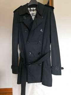 Burberry Trench Coat Black 46R