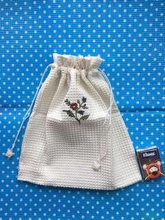 泰國袋 米色柔軟布料 Thailand Bag