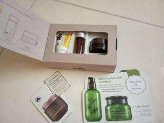 Innisfree jeju volcanic care 3 step kit