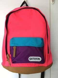 Outdoor Beams Boy Cordura Fabric Backpack 日本背囊 Japan 粉紅書包