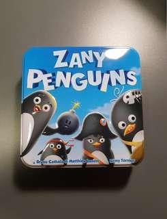 Zany Penguins Card Games