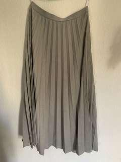 🚚 Grey plated Skirt