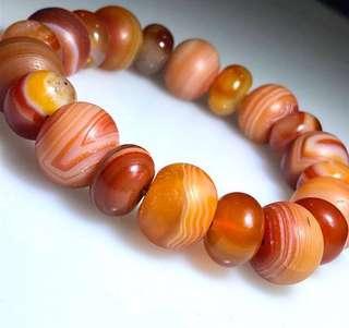 Carnelian Agate Bracelet