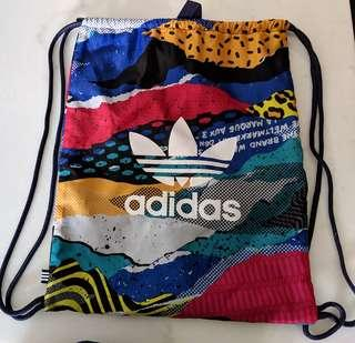 EXCLUSIVE FROM TOKYO: Whimsical Adidas Drawstring Backpack Bag