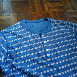 Uniqlo longsleeve stripes shirt