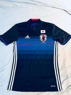 🚚 Adidas 藍武士 日本 足球衣 s號 samurai blue japan climacool football kit