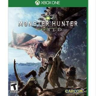 🚚 Monster Hunter World Xbox One Digital Download Game Code Fully Verified