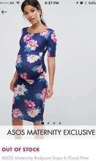 Maternity dress floral