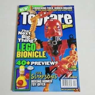 The Toy Magazine book - 2001