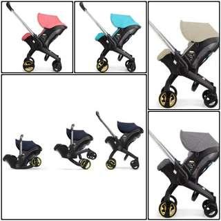 Stroller to Carseat 4 in 1 Convertible