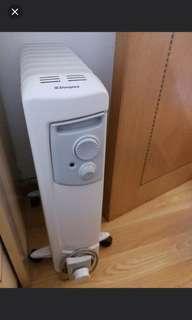 新淨 少用 work 暖爐 油壓 充油