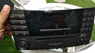 Mercedes w219 cls audio player
