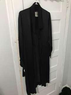 Aritzia Le Fou Silk Duster Robe