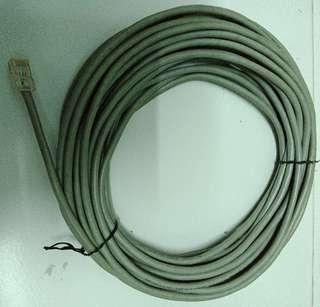 LAN cables & fixed line cables