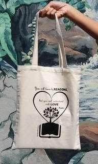 Canvas Tote Bag - Rumi Quote