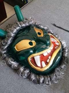 2 x Fun masks for sale