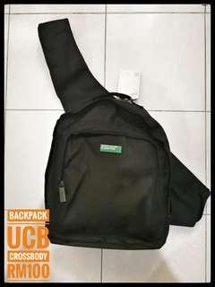 NEW BACKPACK UNITED COLOUR BENETTON