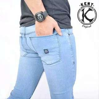 Celana Jeans Original Kent Long Warna BioBlitz
