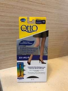 42d46b227e DR SCHOLL Medi QttO Daywear Sheer Compression Stockings (Natural Nude  Colour) ~JAPAN