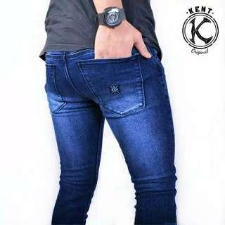 Celana Jeans Original Kent Long Warna BioWash