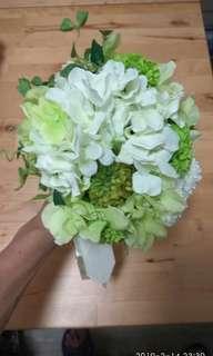 結婚花球 新娘花球 伴娘花球 兩款