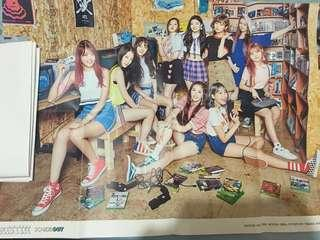 FOLDED PRISTIN OFFICIAL POSTERS