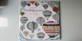 Finding Peace Adult Coloring Book by Christina Rose