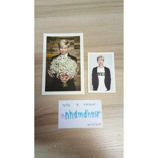 BTS 2nd Muster Mini Photocard + Postcard RM/NAMJOON (2pcs) + FREE BTS Photostrip