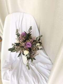 Wedding Preserved Flowers Bouquet 新娘保鮮花花球