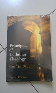 🚚 Principles of Lutheran Theology