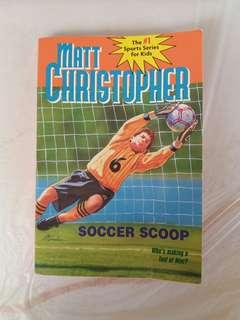 Matt Christopher book Soccer Scoop