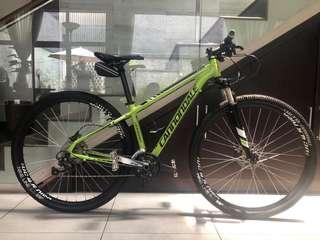 "MTB hardtail Cannondale 29""er fullbike green"
