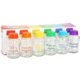 Baby Pax Glass Bottles Storage 5oz/150ml (6pcs)