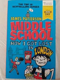 James Patterson book Middle School